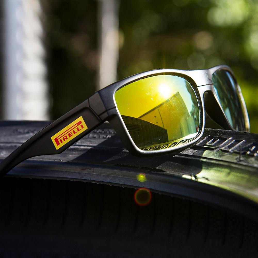 (NEW) PIRELLI BLACK SUNGLASSES