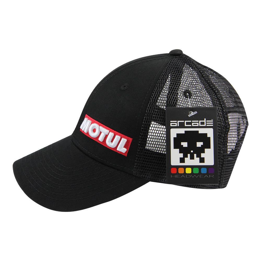 MOTUL BLACK TRUCKER CAP