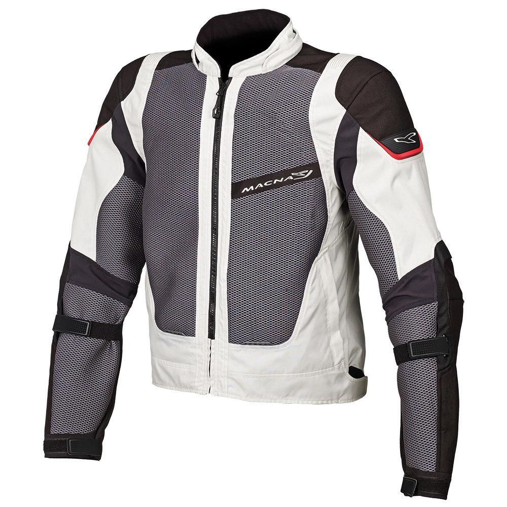Macna Sunrise Jacket - Ivory/Grey/Black