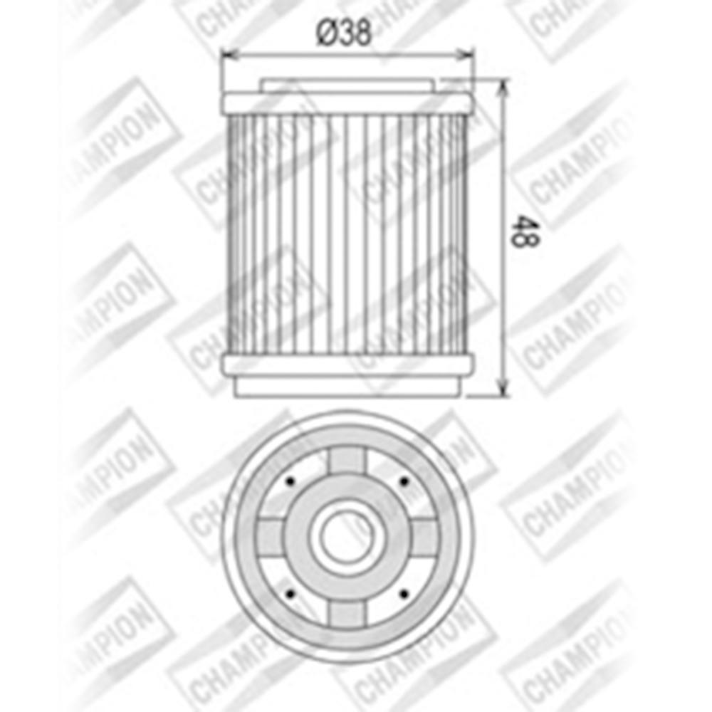 International Fuel Filter 1618385c91