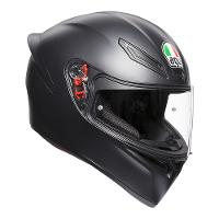 AGV K-1 Matt Black Range