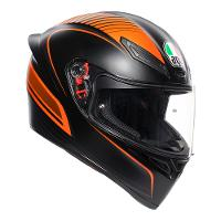 AGV K-1 Warm Up Black Orange Range