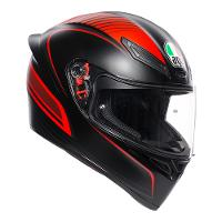 AGV K-1 Warm Up Black Red Range