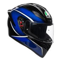 AGV K-1 Qualify Black Blue Range