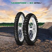 Pirelli Scorpion MX Extra J Range