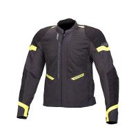 Macna Event Ivory/Black/Fluro Green Jacket